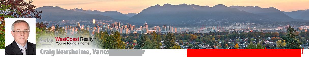 Craig Newsholme, Vancouver Realtor